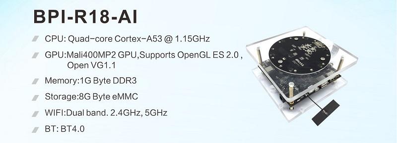 BPI-R18-AI(Allwinner SoC-Only 3-Mic Far-Field Dev Kit